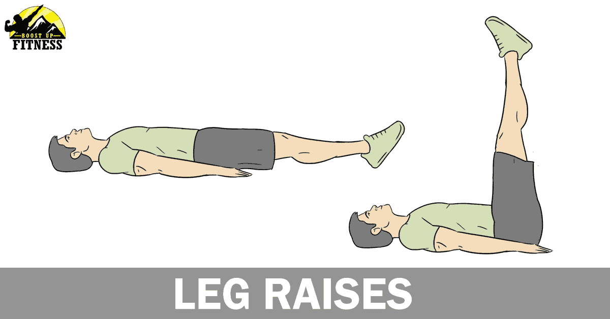 Leg Raises ab exercise
