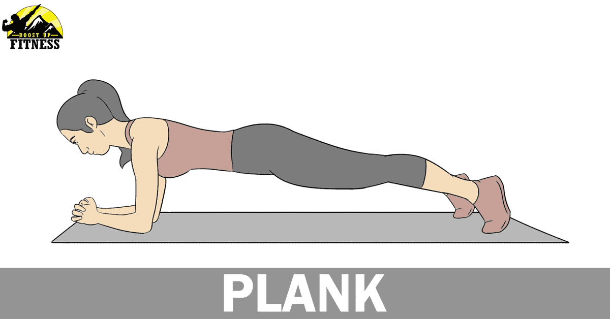 Plank ab exercise