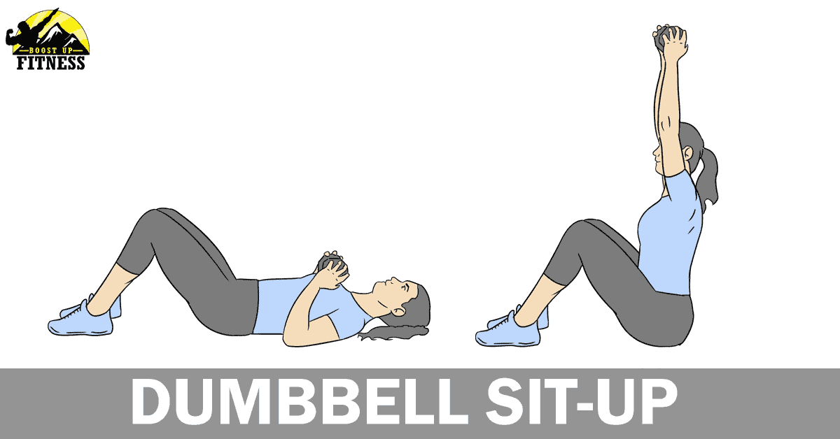 Dumbbell sit-up