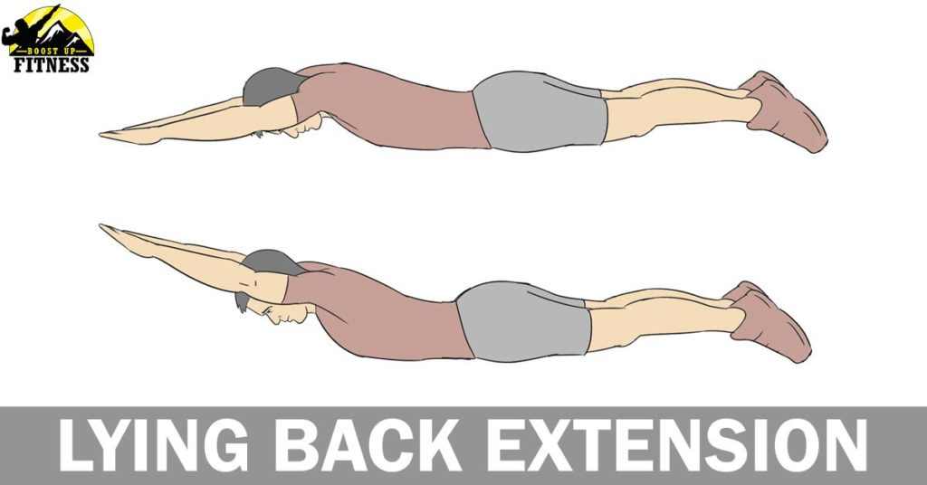 Lying back extensions