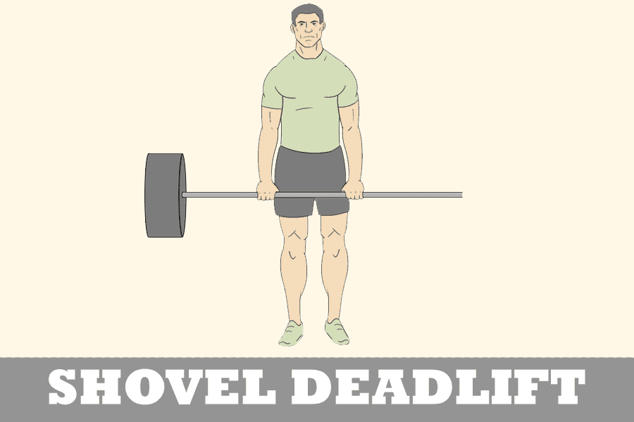 the shovel deadlift