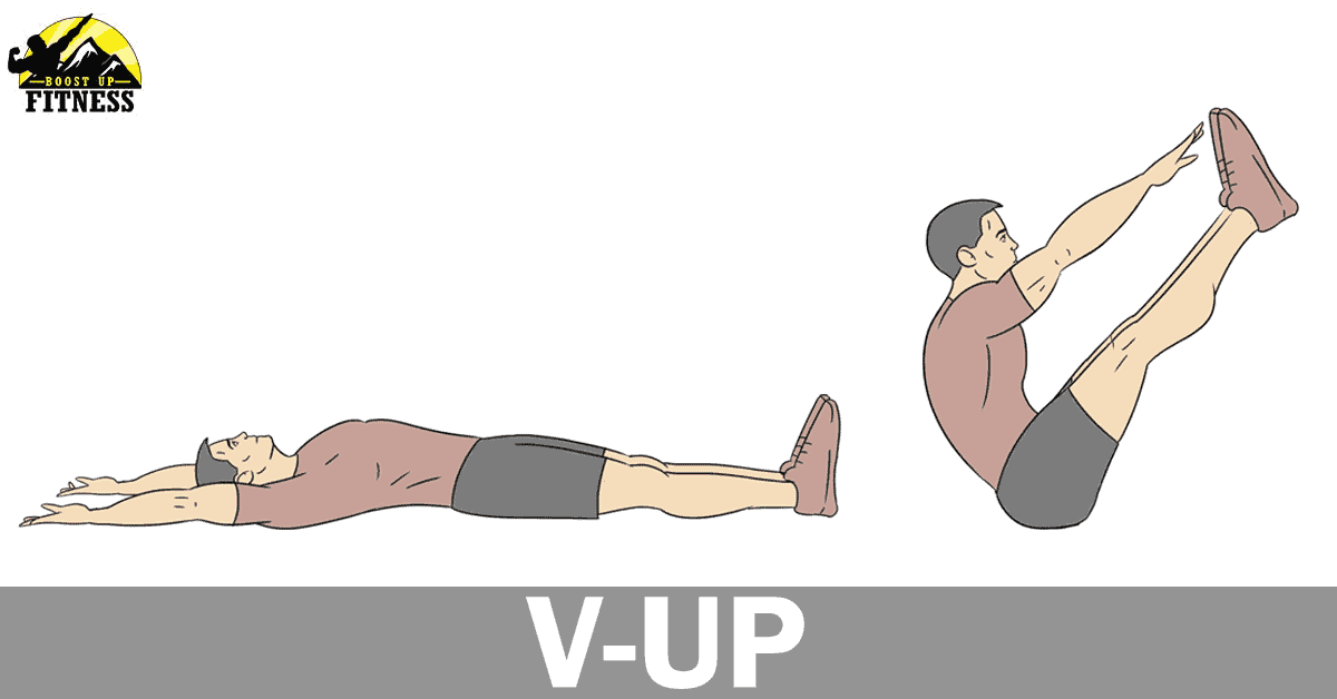 V-Up ab exercise