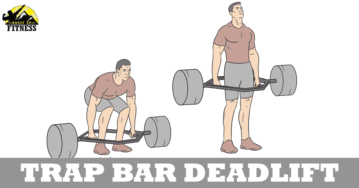 trap bar deadlift variation