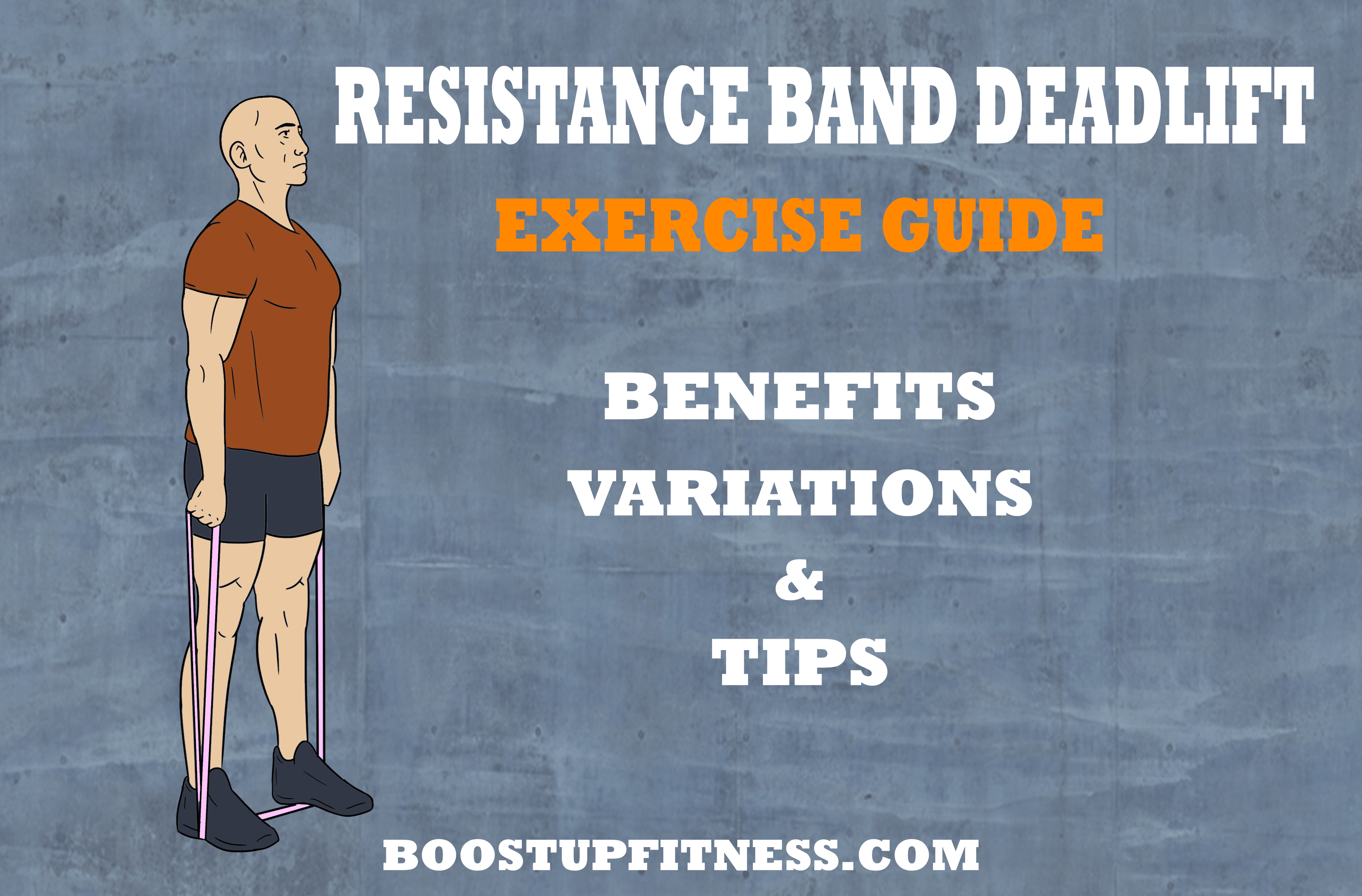 Resistance band deadlift