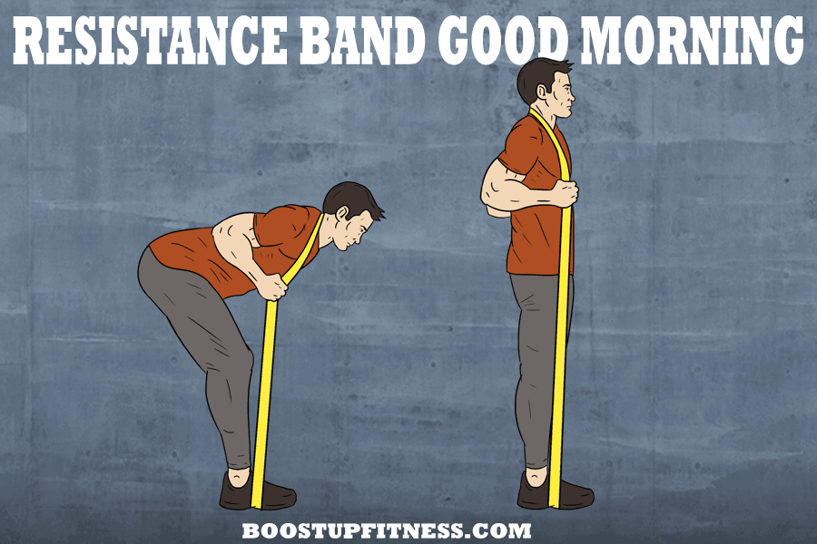resistance band good morning