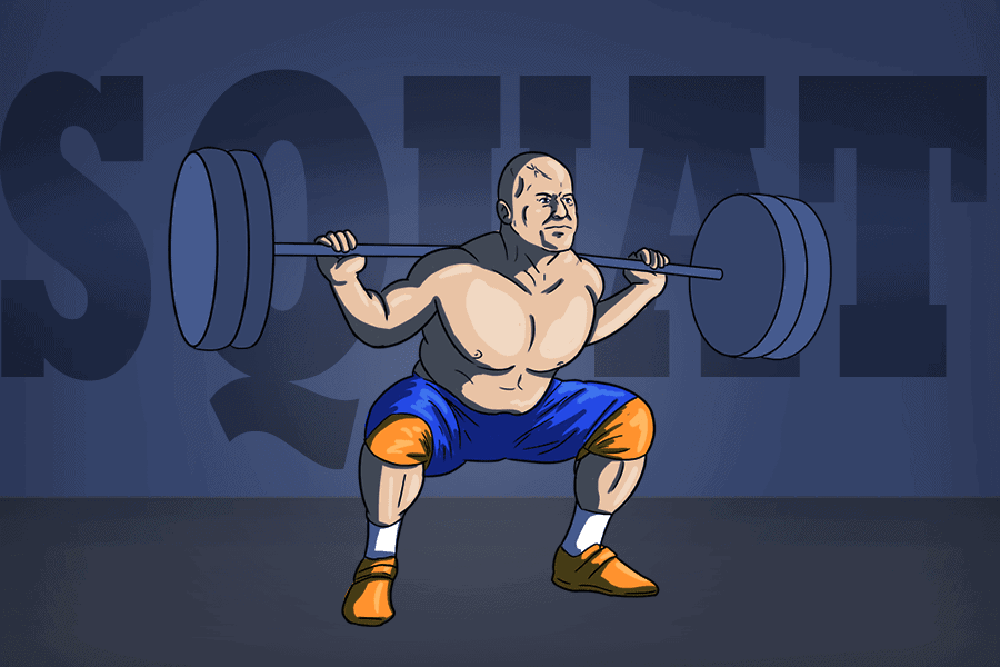 squat to improve your deadlift