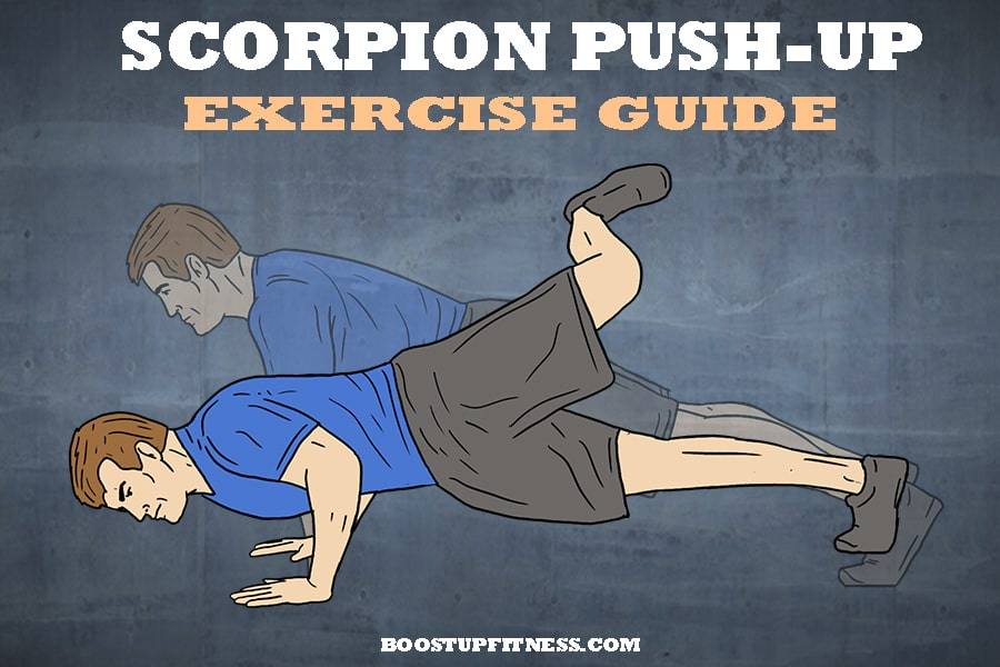 Scorpion Push-Up Exercise Guide